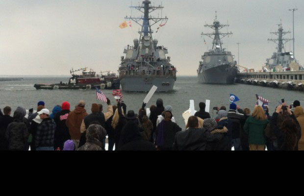 USS Cole Homecoming