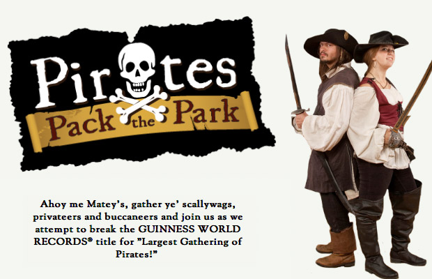 Pirates Pack the Park