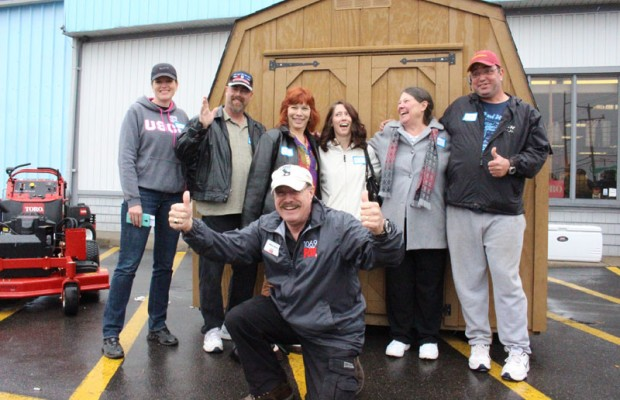 Lynn Williford Wins Arlo's Shed
