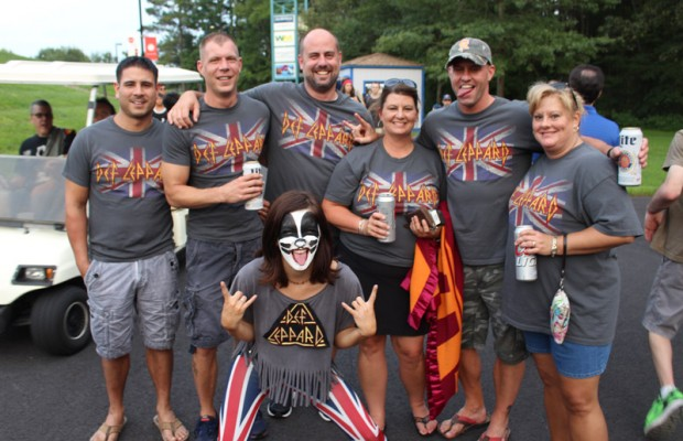 PHOTOS: KISS and Def Leppard Fans